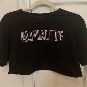Alphalete crop top Size x-small